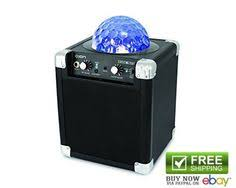 Party Speakers With Lights Ion Portable Bluetooth Speakers Block Rocker 50w Dynamic Power