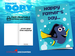 finding fathers finding dory father u0027s day cards printable