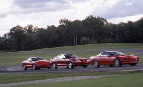 car and driver mustang vs camaro 1996 ford mustang cobra vs chevrolet camaro z28 ss pontiac