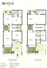 row house floor plans row house plan design for 1800 square feet modern 1200 sq ft plans