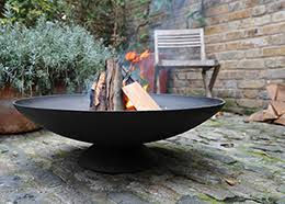 Large Firepit Cast Iron Pit Brazier Outside Pinterest Cast Iron