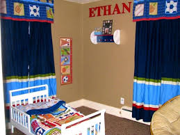 Curtains For Themed Room Sports Curtains Bedroom Baseball Curtains Sports Window Curtains