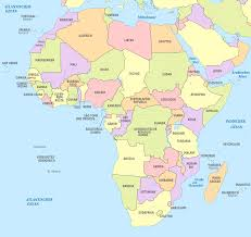 africa map labeled countries africa map labeled