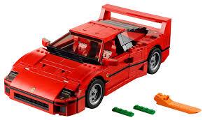 lego mini cooper the brickverse lego ferrari f40