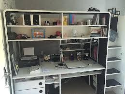 lit superposé avec bureau pas cher lit bureau pas cher civilware co