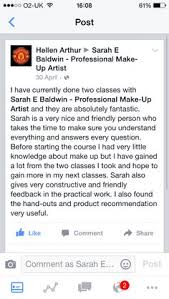 make up courses in nyc a thank you from a regular client of mine who has undergone online