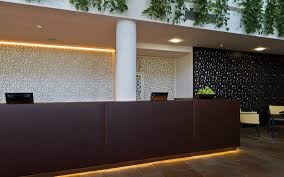 partition wall decorative panel mdf perforated spa resort therme