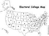 best 25 electoral college map 2016 ideas on pinterest electoral