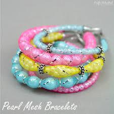 diy make bracelet images Diy mesh bracelets step by step crafts unleashed jpg