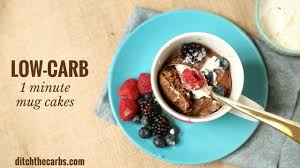 1 minute low carb mug cakes new cooking video just added