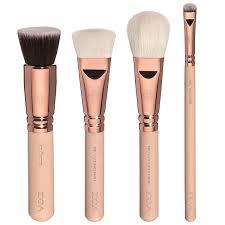 amazon com zoeva full set makeup brushes rose golden luxury vol 2