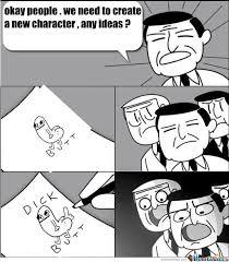 Create Meme Comic - how dickbutt was created by lungu meme center