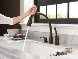 delta pilar single handle standard kitchen faucet with touch default name
