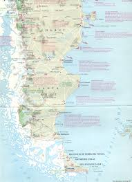 Patagonia Map Camino Abierto Incoming Tour Operator And Travel Agency In