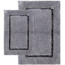 Gray Bathroom Rug Sets Amazon Com Popular Bath