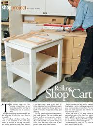 rolling shop cart plans u2022 woodarchivist
