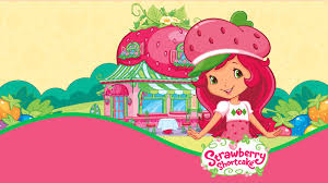 strawberry margarita cartoon strawberry shortcake character clipart 52