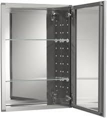 metal door with glass amazon com kohler k cb clw2026ss single door 20