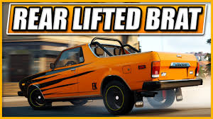 subaru brat custom forza horizon 2 rear lifted subaru brat nfs no limits gp