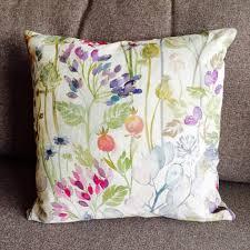 voyage hedgerow country garden cushion decorative cushion 18
