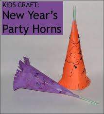 new years party blowers 25 new years crafts for kids craft wand and holidays