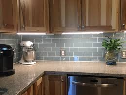 under cabinet lighting without wiring smoky blue glass tile backsplash and under cabinet lighting