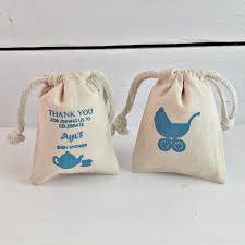baby shower favor bags personalized sachet favor bag custom baby shower favors sted