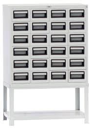 Commercial File Cabinets Steel Index Card File Cabinet 24 Drawers Hermaco Commercial Inc