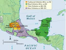 mayan empire map the at 300ce sutori