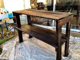 diy pallet tv stand after stain dim do it myself pinterest