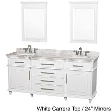 72 Inch Single Sink Vanity Wyndham Collection Berkeley 72 Inch White Double Bathroom Vanity