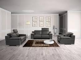 black modern sofa salotti evergreen modern black italian leather sofa set