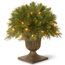home accents holiday 32 in pre lit snowy artificial tree with 35