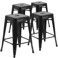 indoor outdoor counter height stool flash furnitur flash furniture 24 high backless metal indoor outdoor counter