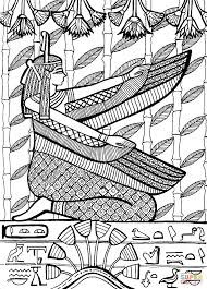 high priest of ptah the patron god of the craftsmen coloring page