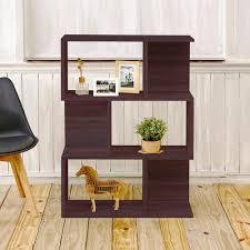 Narrow Bookcase Espresso by Way Basics Madison 3 Shelf 11 2 In X 32 1 In X 44 8 In Zboard