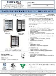 pro 48 with glass door price amazon com maxximum 48 cft double glass door merchandiser