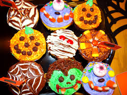 weekday chef halloween cupcakes and brownies