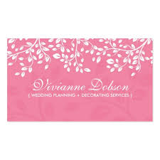 wedding planning business create your own wedding planner business cards page3