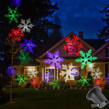 Led Snowflake Lights Outdoor by Newest Led Snowflake Effect Lights Outdoor Christmas Light