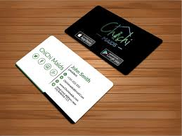 cards for business business cards with social media icons entry 23 bakhtear05 for