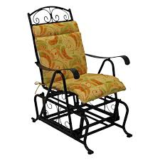 Rocking Chair Seat Replacement Blazing Needles 22 X 45 In Outdoor High Back Patio Chair Cushion