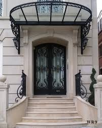 wrought iron entry doors