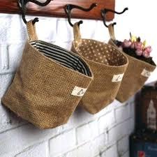 Hanging Baskets For Bathroom Storage Capricious Wall Hanging Baskets Also Basket Storage Large Image