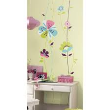 2 5 in x 27 in sofia the first peel and stick giant wall decals 2 5 in x 27 in sugar blossom peel and stick giant