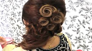 how to indian bridal hairstyle youtube