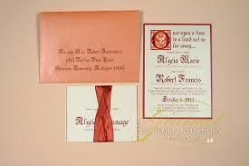 cinderella wedding invitations alycia robert cinderella wedding invitations gourmet invitations