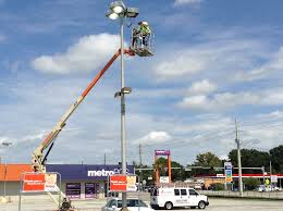parking lot light repair near me commercial rightway electrical contractors inc