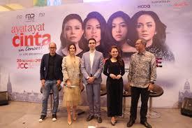 film ayat ayat cinta 1 sinopsis 4 diva ternama indonesia siap gemparkan panggung konser ayat ayat