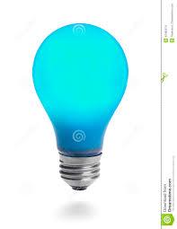 blue free light bulbs blue light bulb stock photo image of computer illuminated 42485574
